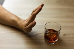 a person denies alcohol in their alcohol detox program